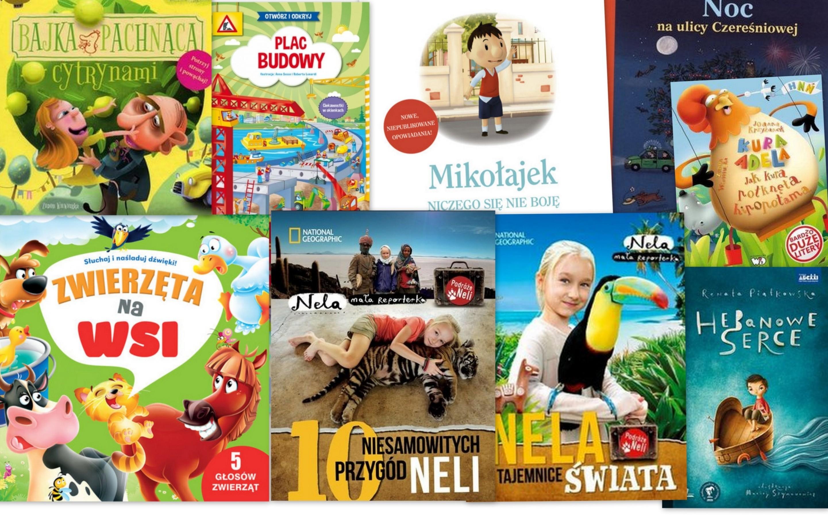 Czytaj więcej o: Nowości książkowe dla dzieci – 06.02.2017