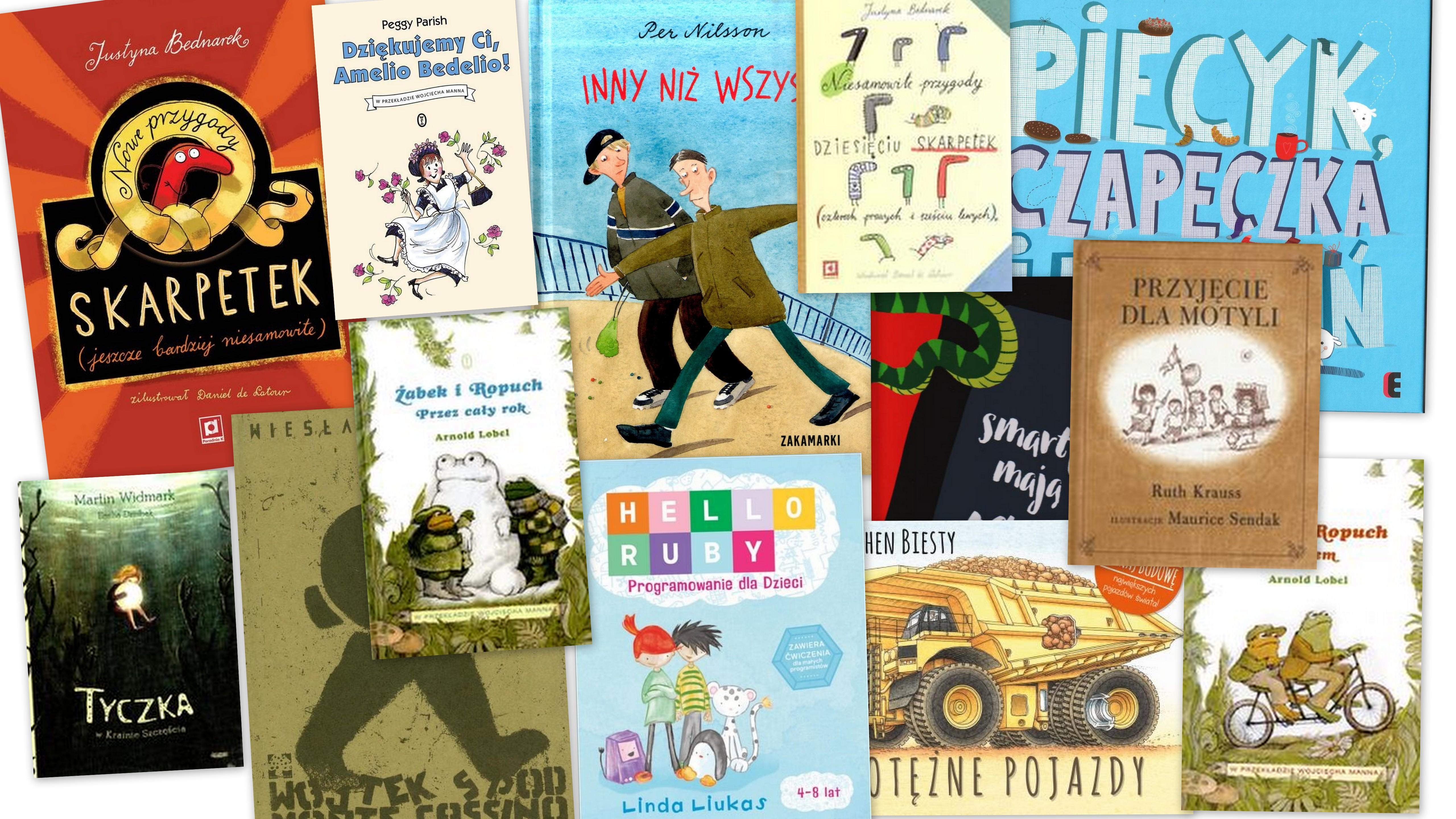 Czytaj więcej o: Nowości książkowe dla dzieci – 27.04.2017