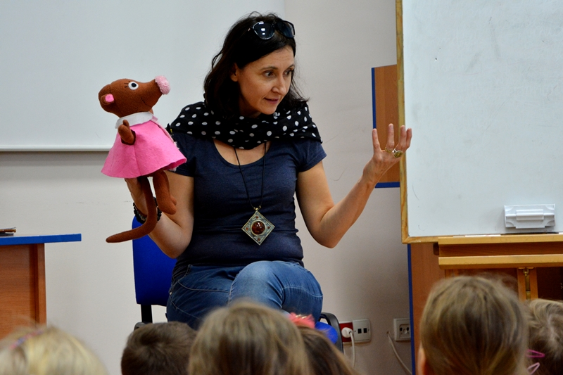 Czytaj więcej o: Roksana Jędrzejewska-Wróbel oczarowała najmłodszych