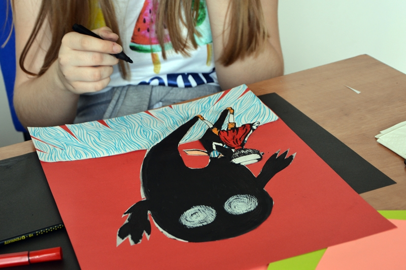 Czytaj więcej o: Ilustrowali z Olą Cieślak