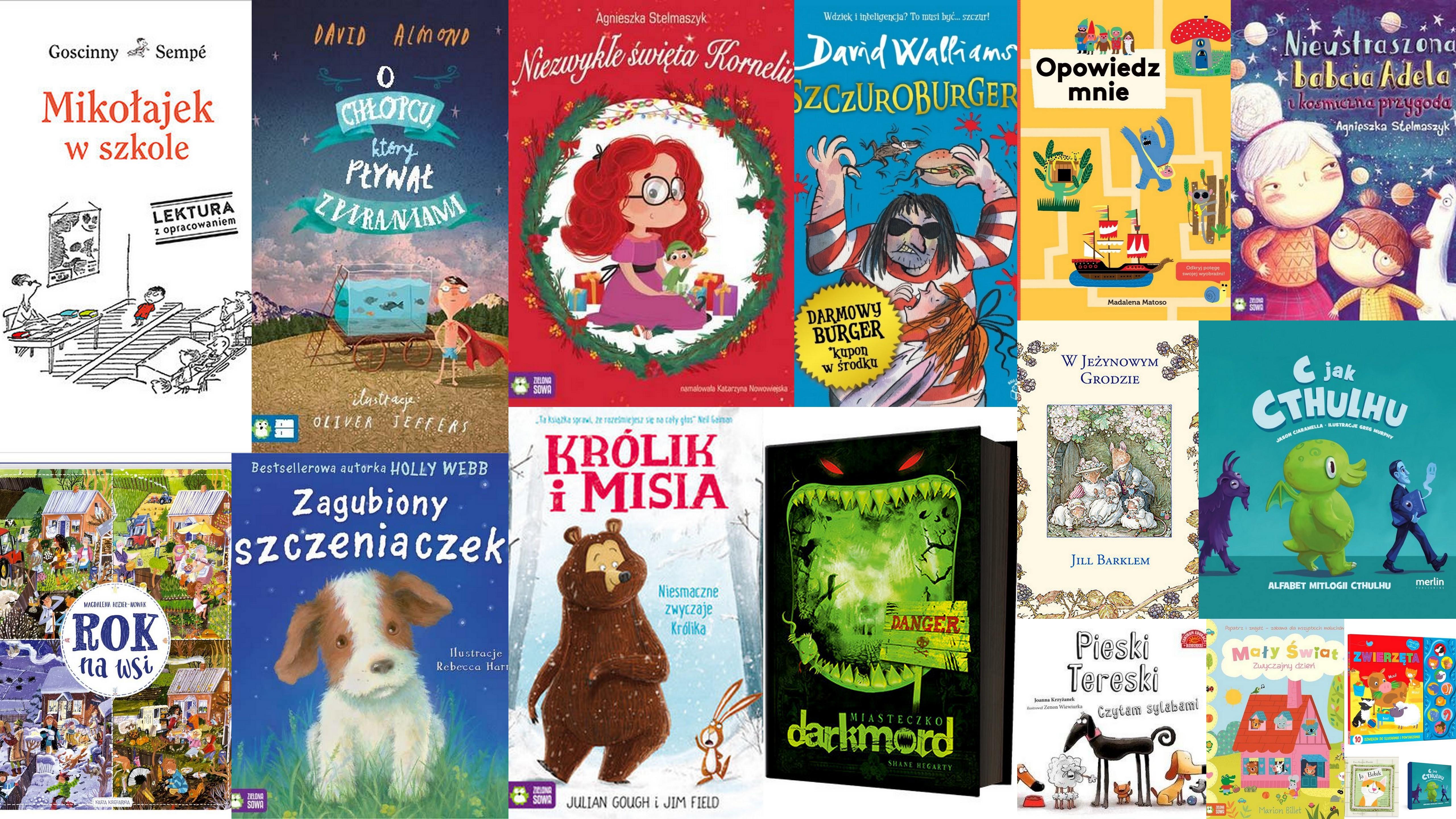 Czytaj więcej o: Nowości książkowe dla dzieci – 19.09.2017 r.