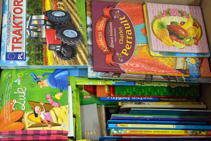 Czytaj więcej o: Udana zbiórka książek