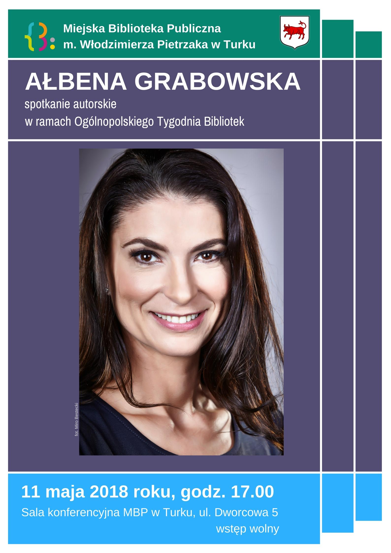 Czytaj więcej o: Spotkaj się z Ałbeną Grabowską!
