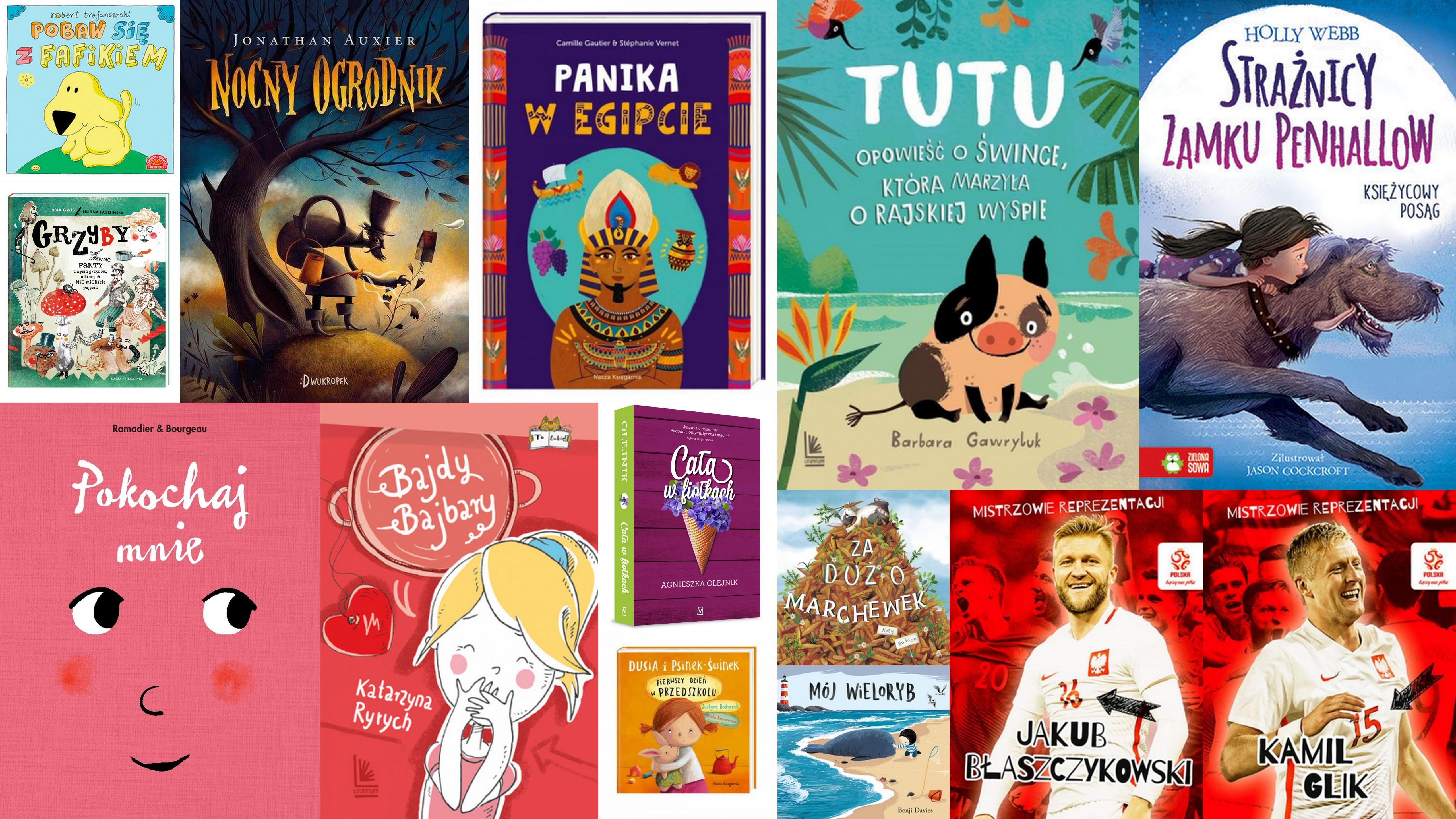 Czytaj więcej o: Nowości książkowe dla dzieci – 21.06.2018 r.