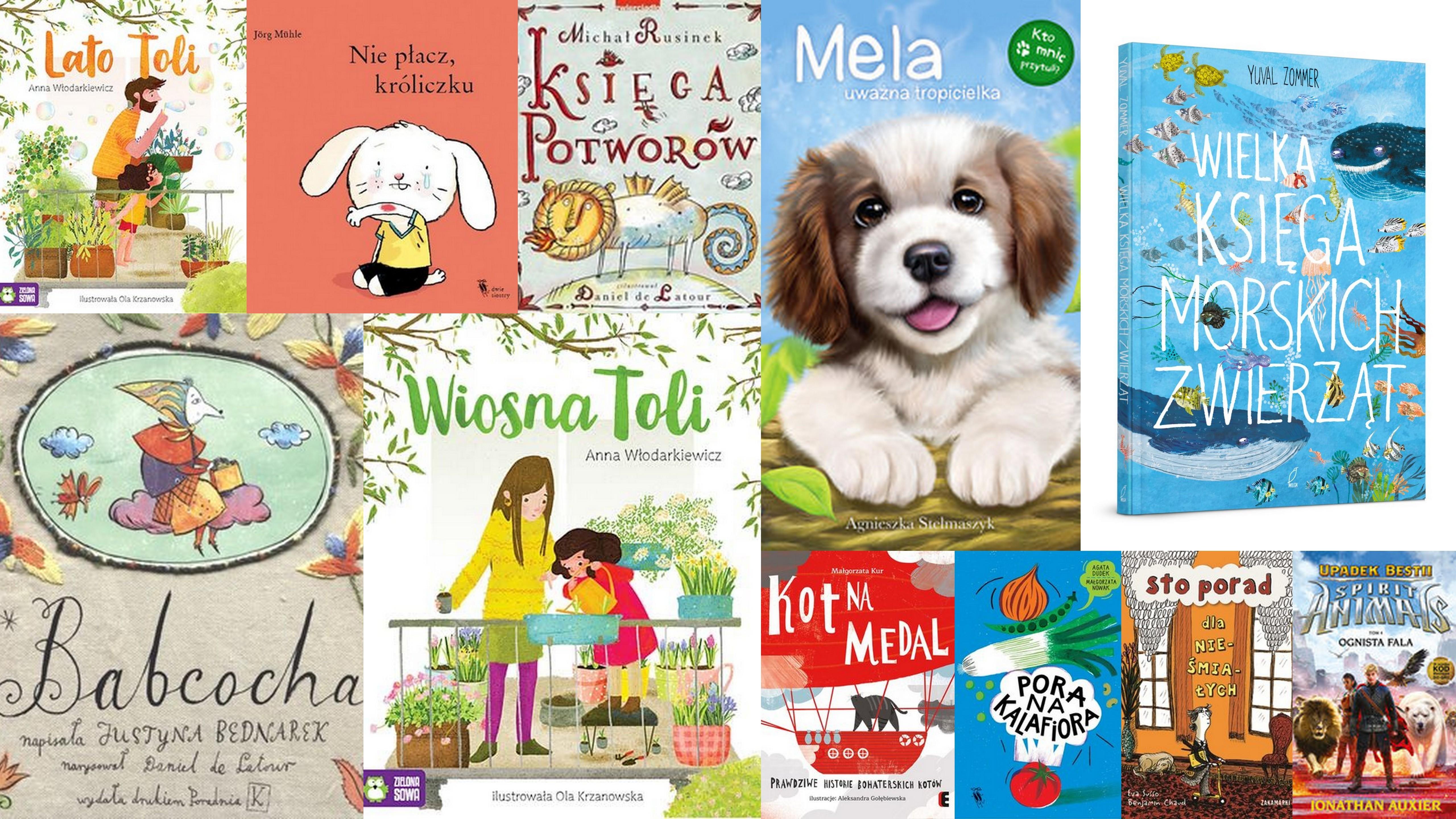 Czytaj więcej o: Nowości książkowe dla dzieci – 11.07.2018 r.