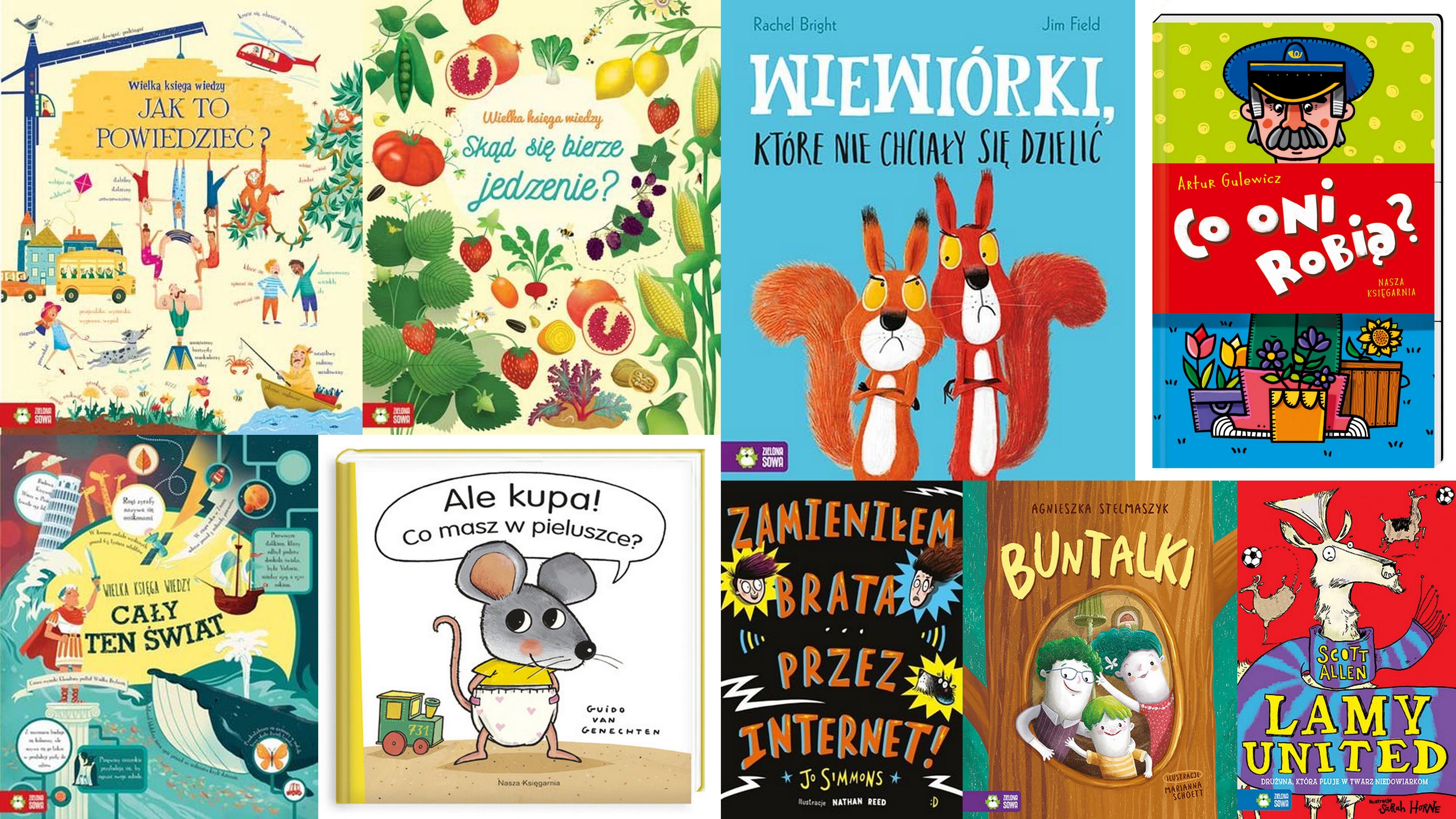 Czytaj więcej o: Nowości książkowe dla dzieci – 01.10.2018 r.