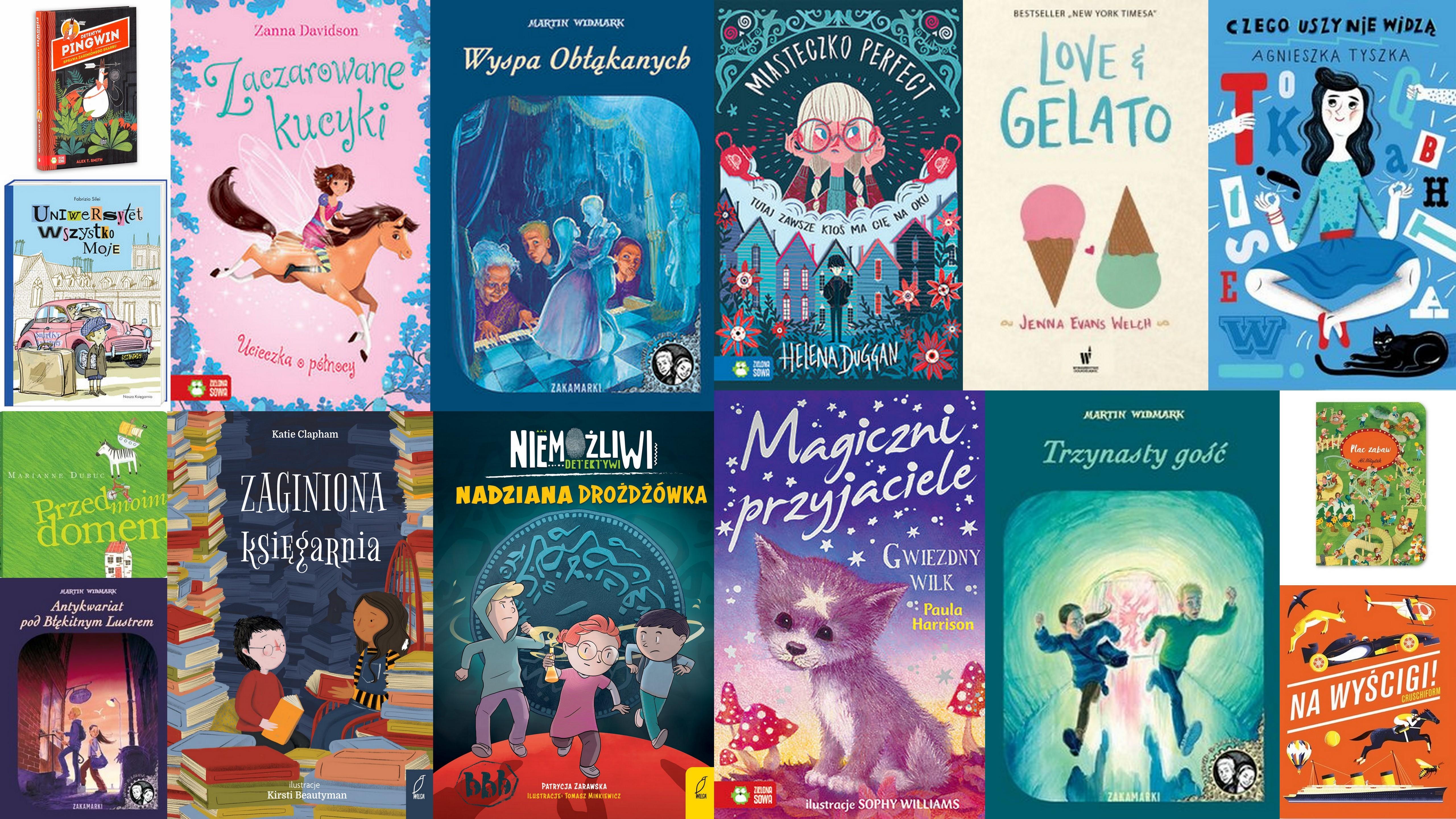 Czytaj więcej o: Nowości książkowe dla dzieci – 26.11.2018