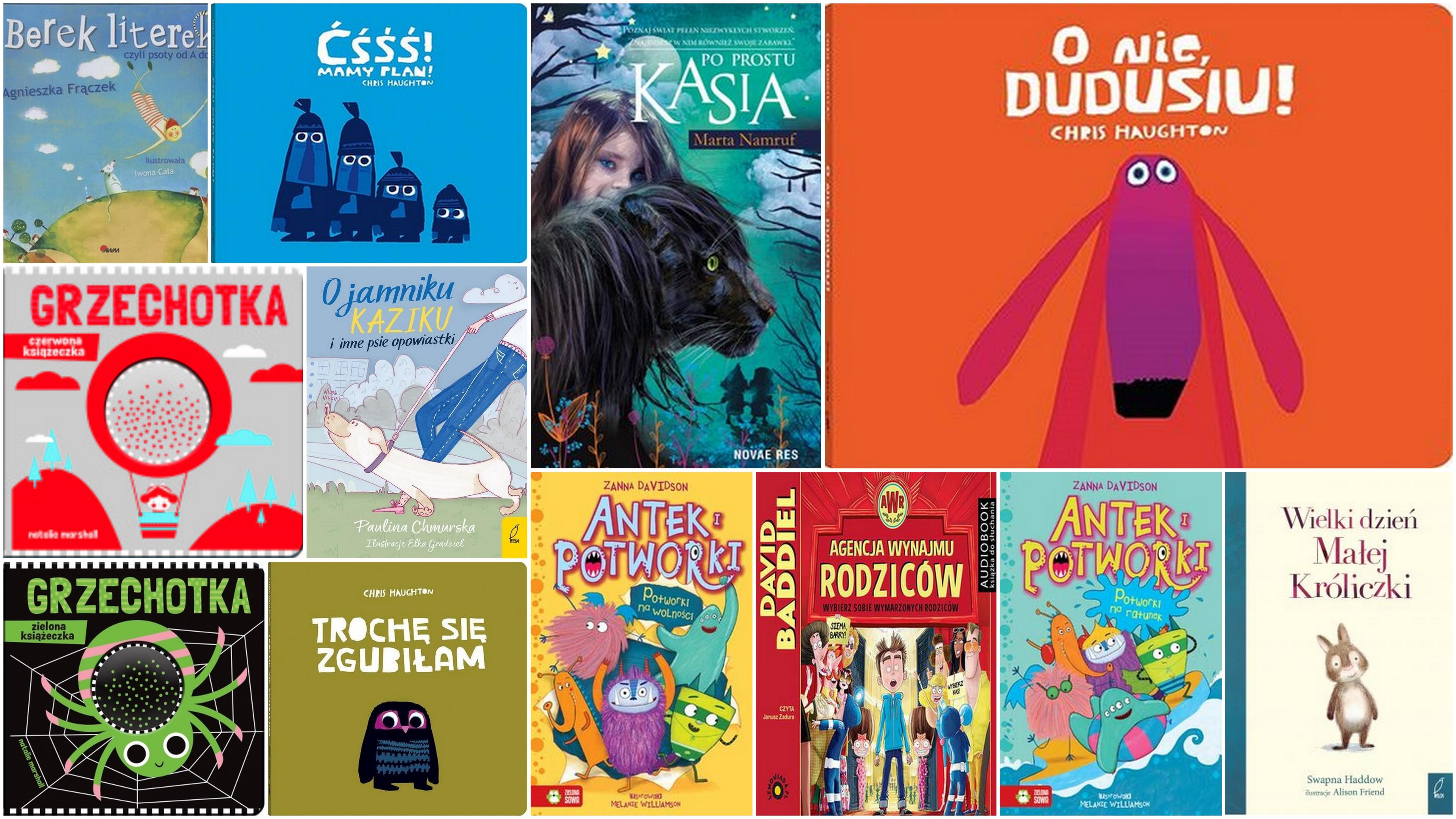 Czytaj więcej o: Nowości książkowe dla dzieci – 11.10.2019