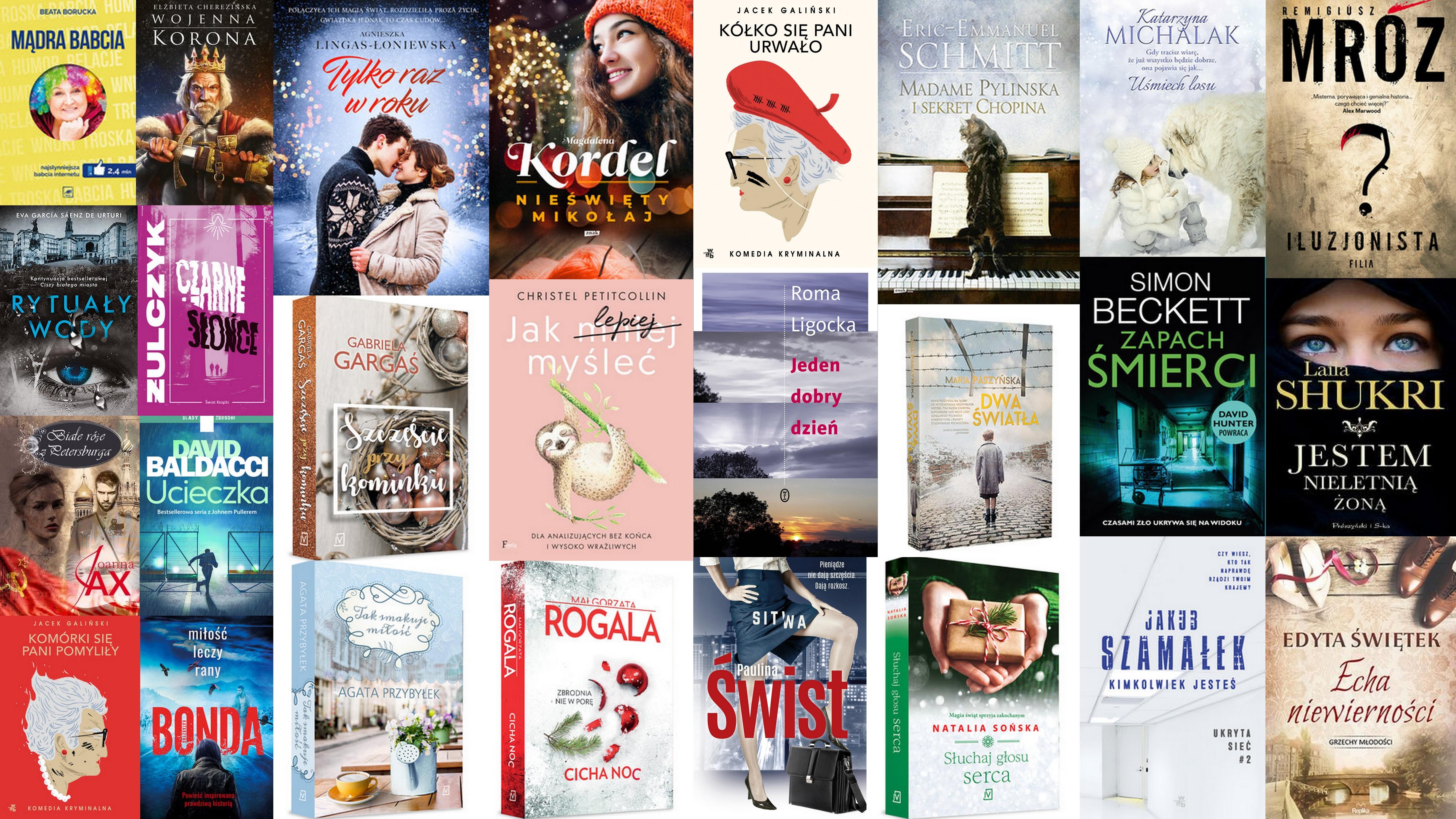 Czytaj więcej o: Nowości książkowe dla dorosłych – 26.11.2019