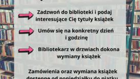 """Czytaj więcej o: Skorzystaj z usługi """"Książka na wynos"""""""