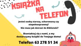 """Czytaj więcej o: Skorzystaj z usługi """"Książka na telefon"""""""