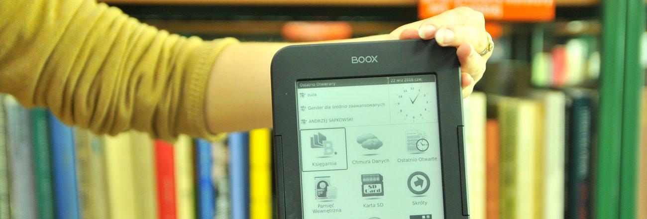 Czytaj więcej o: Wypożycz e-reader