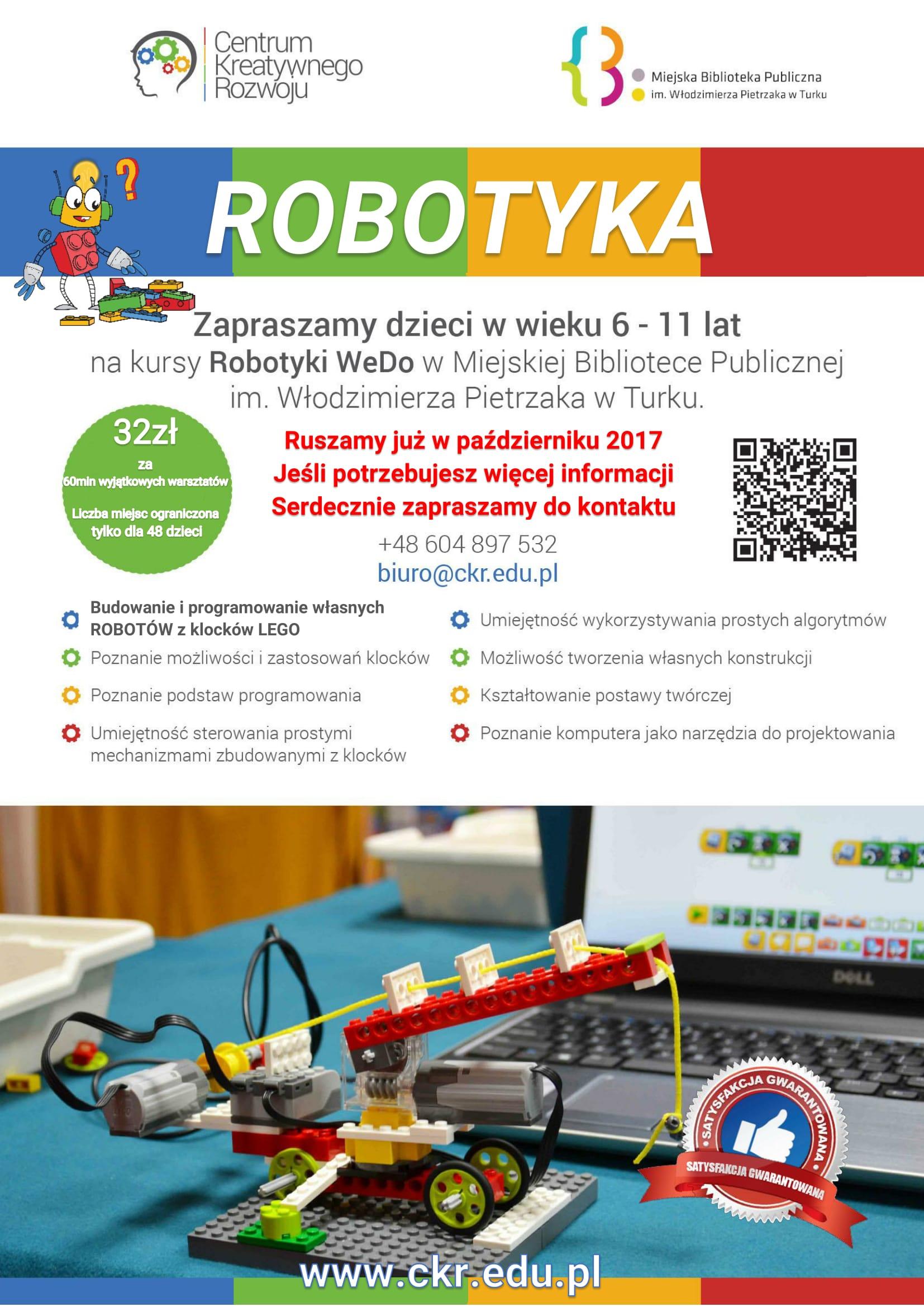 Czytaj więcej o: Zajęcia z robotyki w Bibliotece!