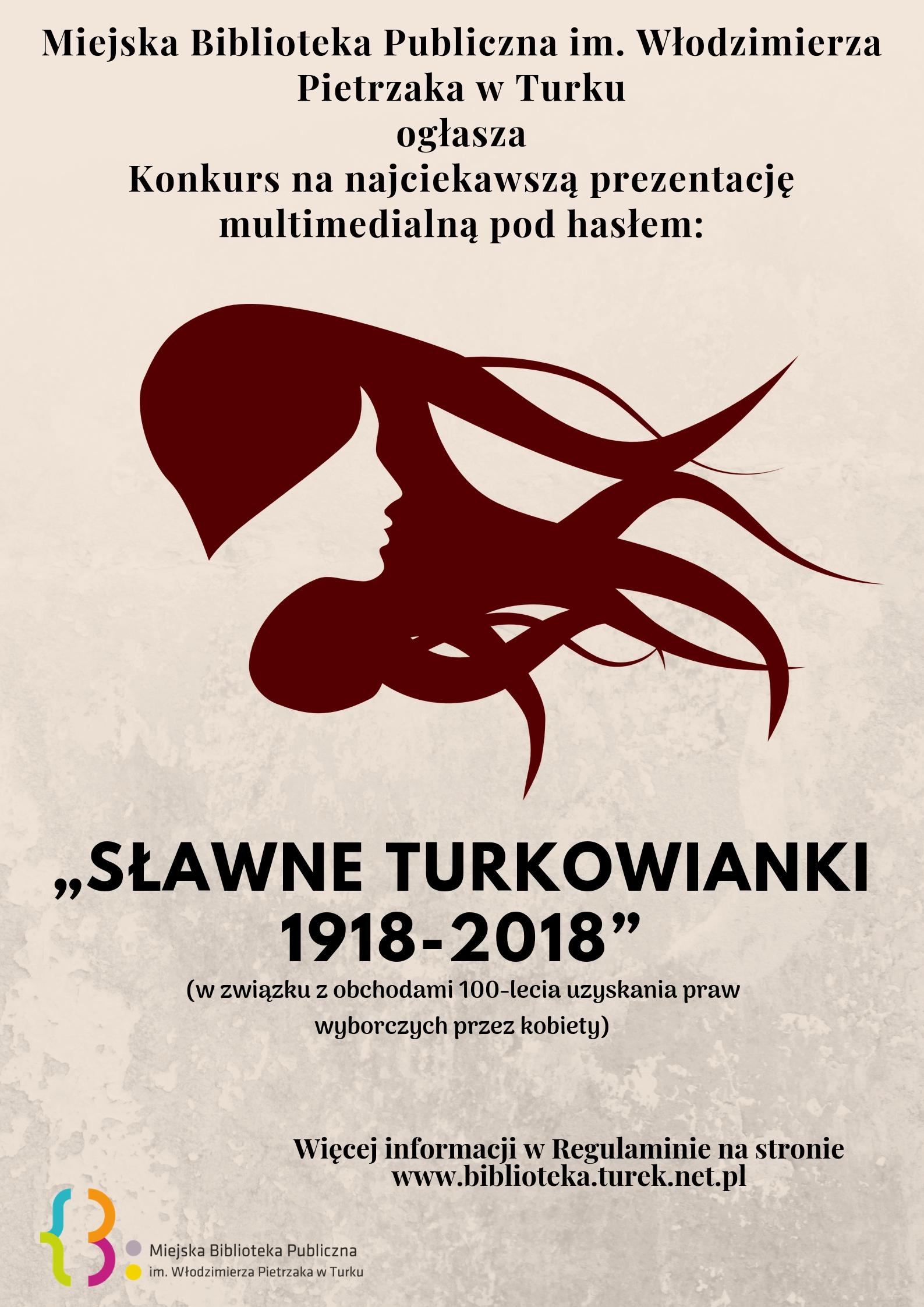 """Czytaj więcej o: Konkurs """"Sławne Turkowianki 1918-2018"""""""