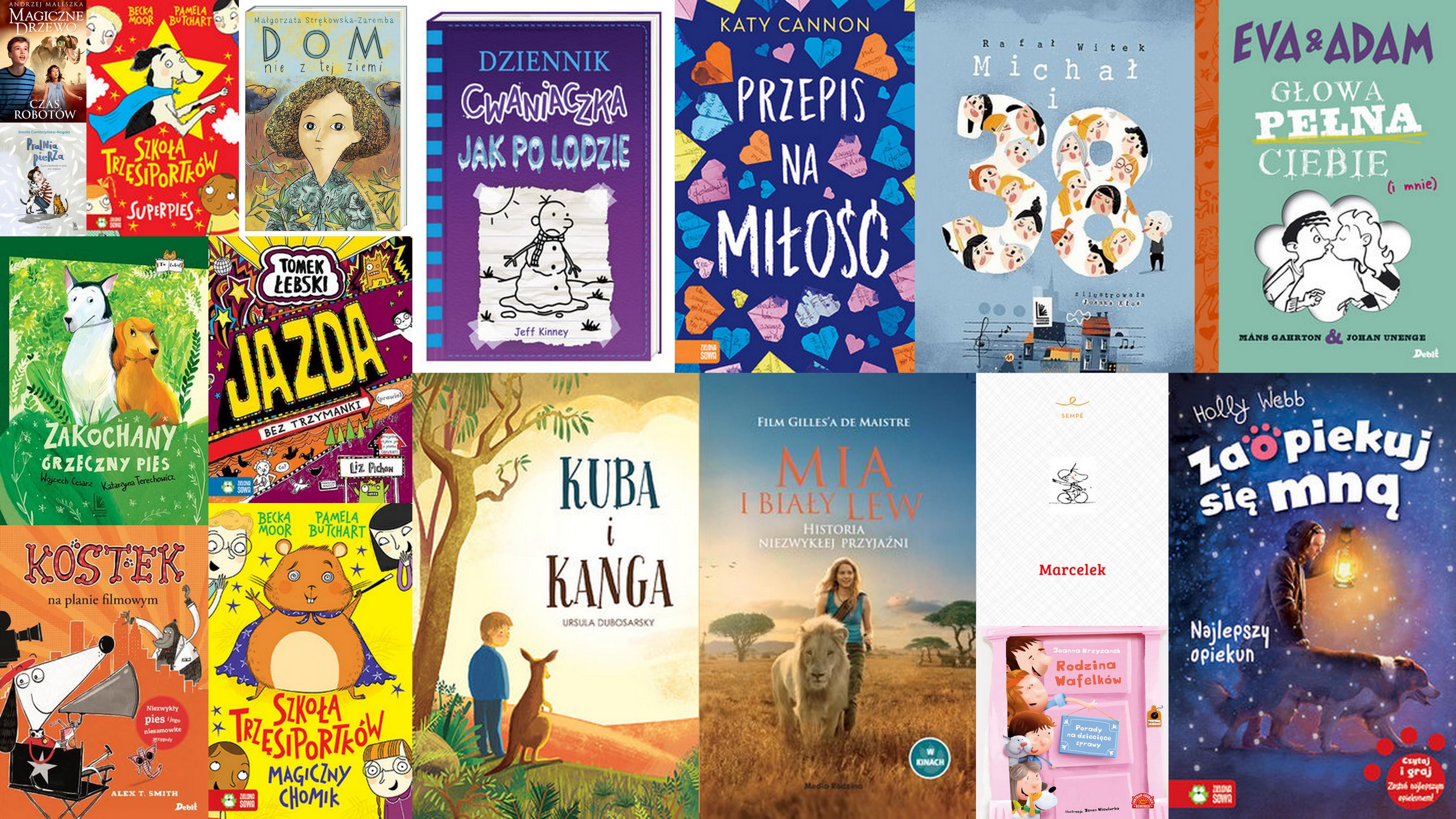 Czytaj więcej o: Nowości książkowe dla dzieci – 26.02.2019