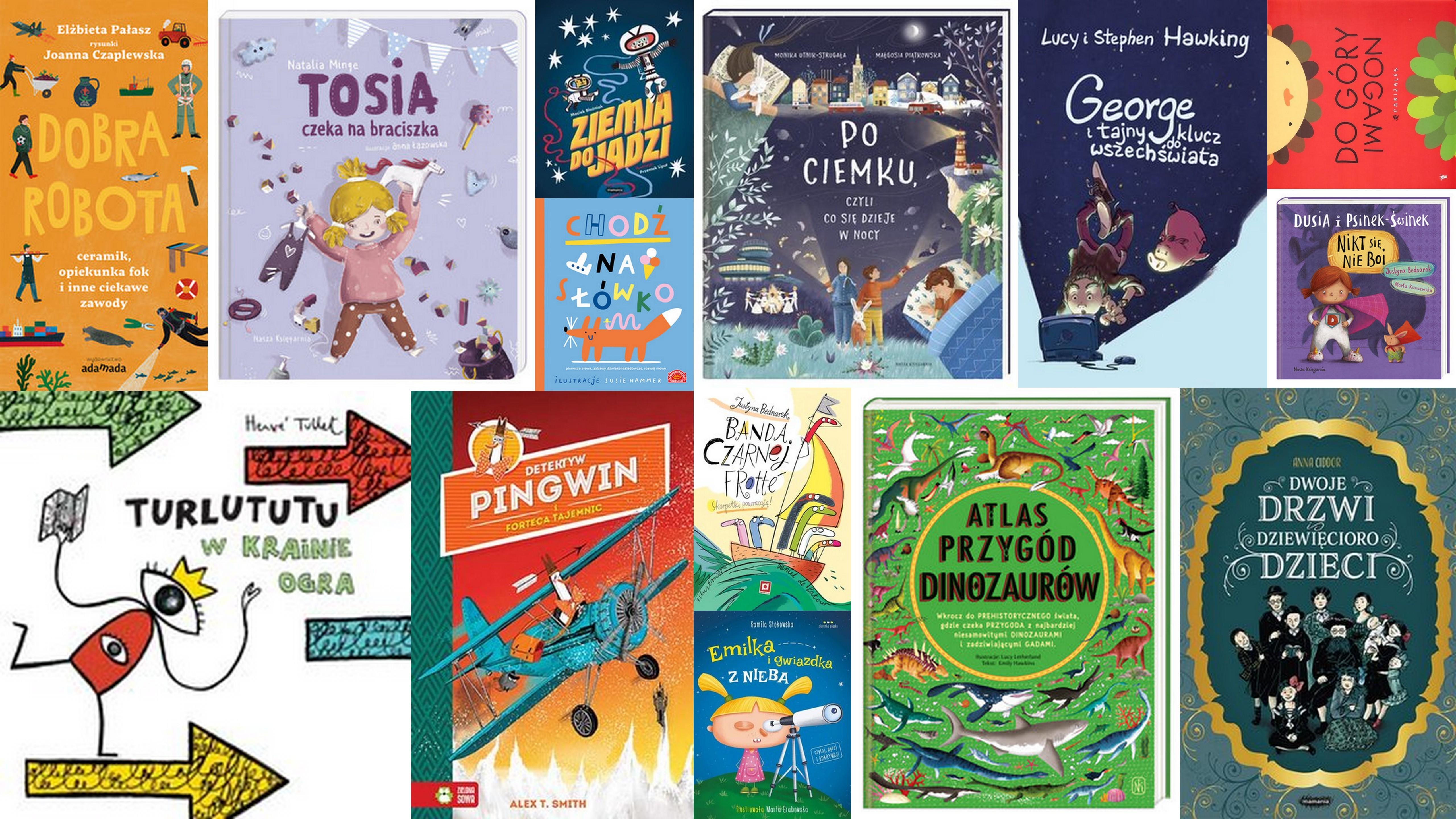 Czytaj więcej o: Nowości książkowe dla dzieci – 10.05.2019