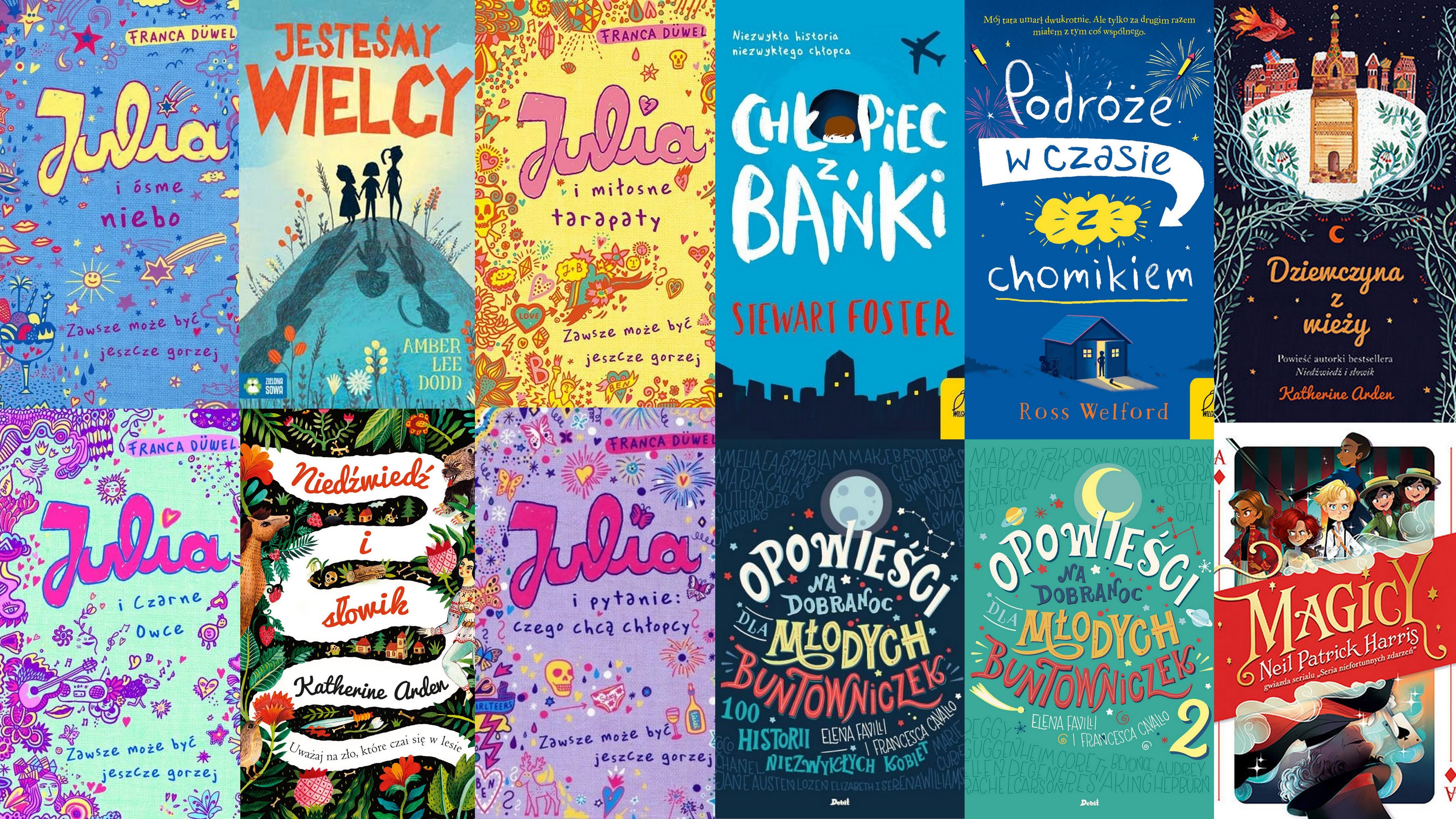 Czytaj więcej o: Nowości książkowe dla dzieci – 17.07.2019