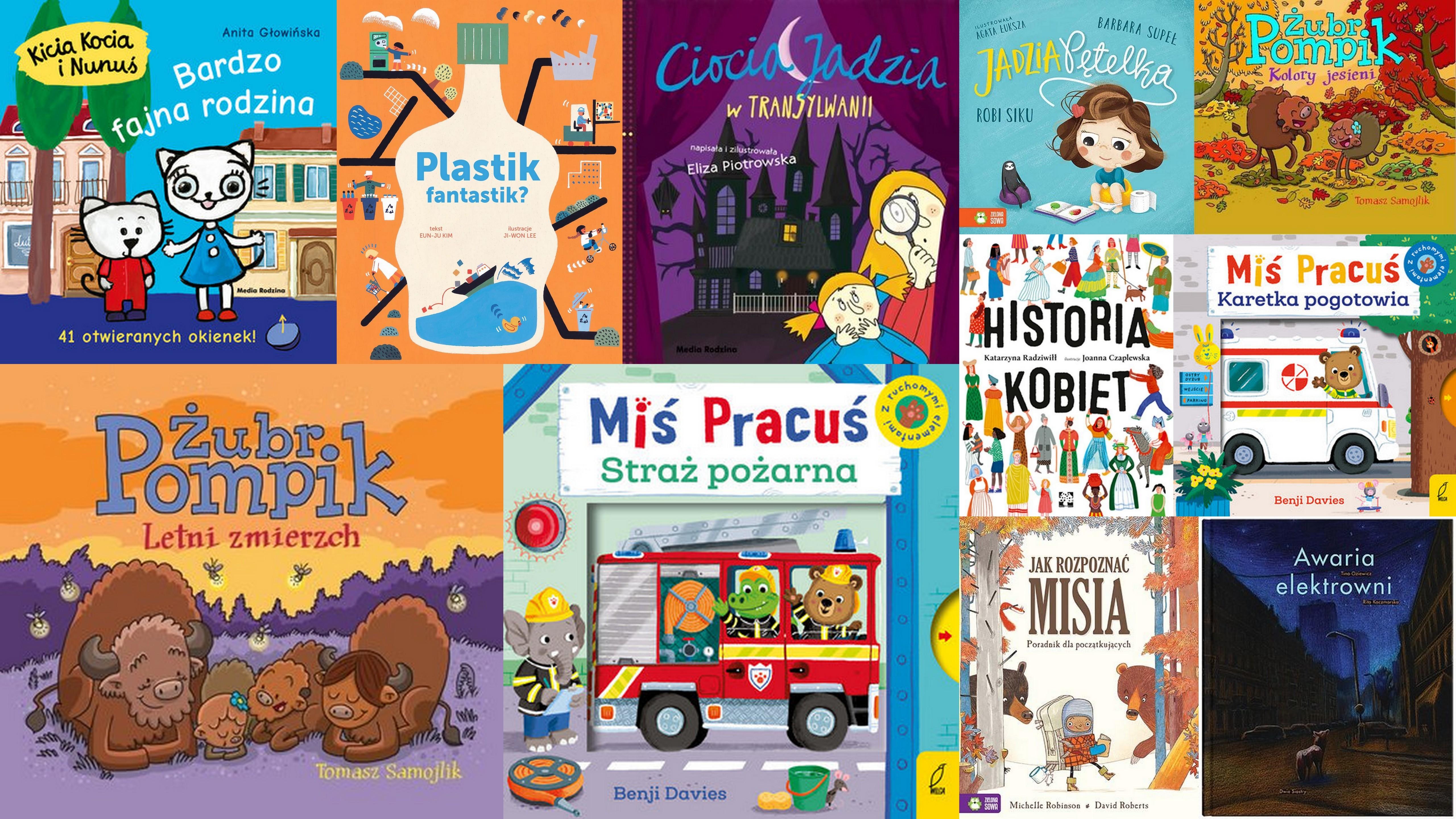 Czytaj więcej o: Nowości książkowe dla dzieci – 06.11.2019