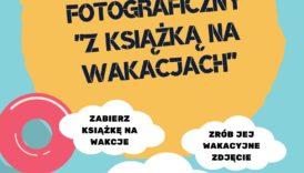 """Czytaj więcej o: Konkurs fotograficzny """"Z książką na wakacjach"""""""